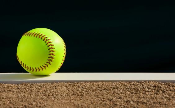 Softball - Pitcher's mound